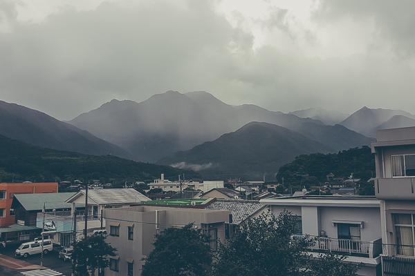 Vy över ön Yakushima