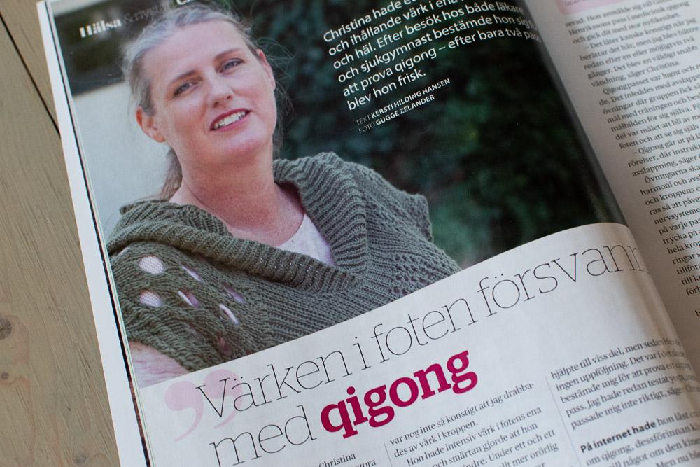 Qigong – artikel i tidningen Hälsa