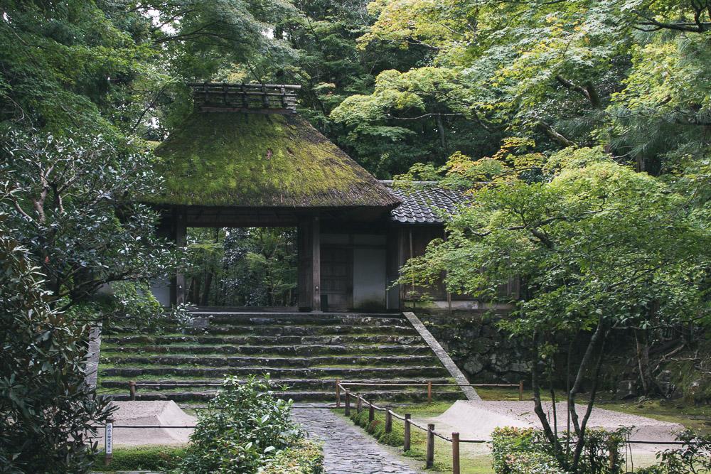 Honen In ett tempel i Kyoto